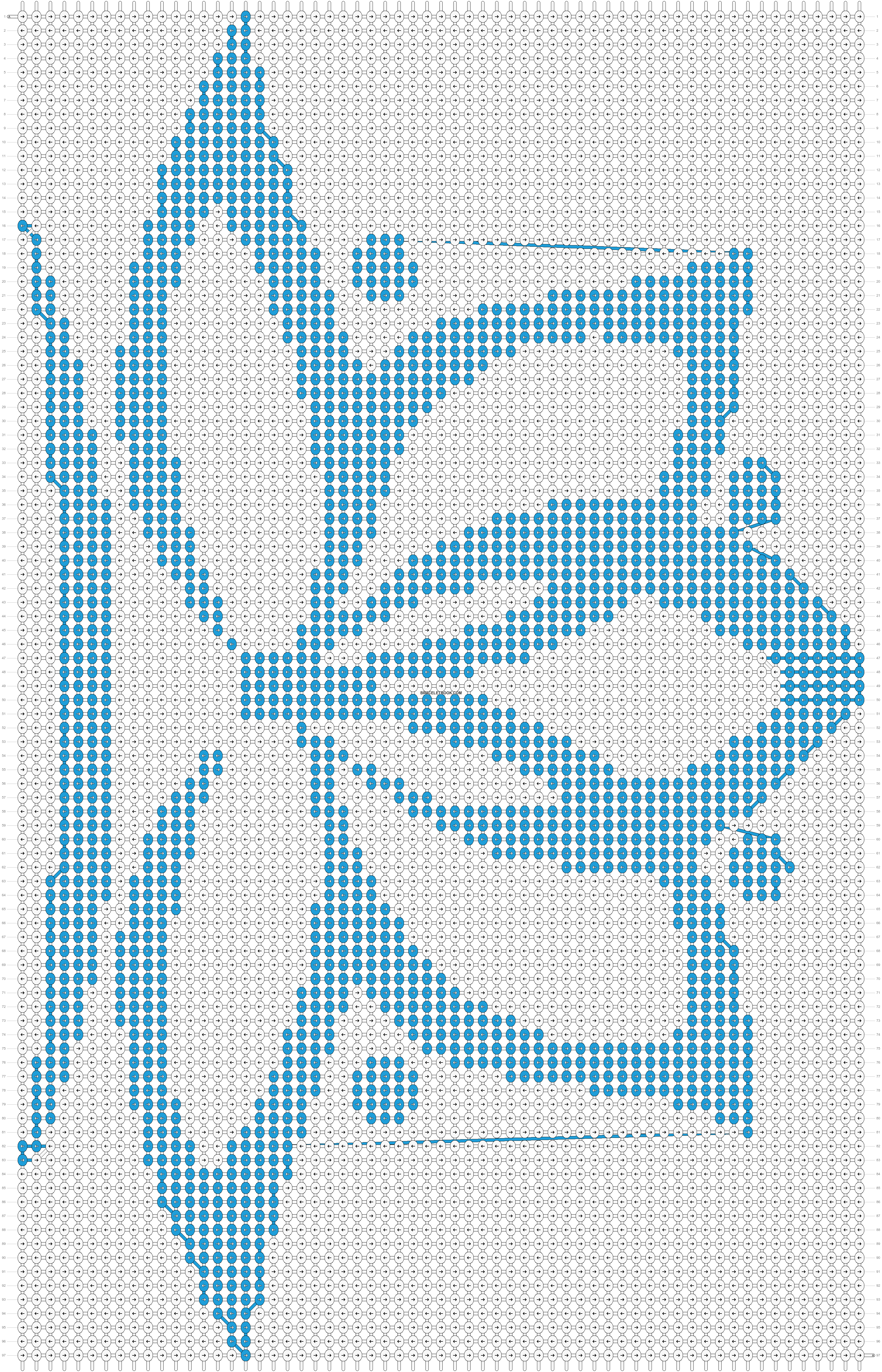 Alpha pattern #21715 pattern