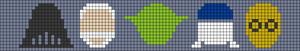 Alpha pattern #21720