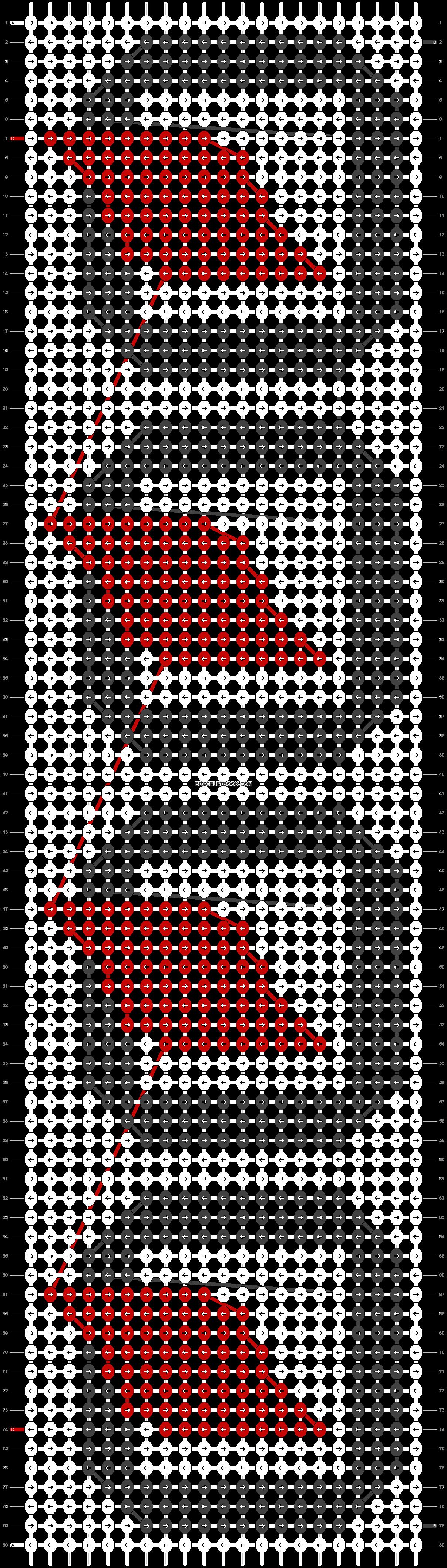 Alpha pattern #21744 pattern