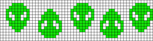 Alpha pattern #21745