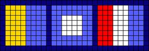 Alpha pattern #21746