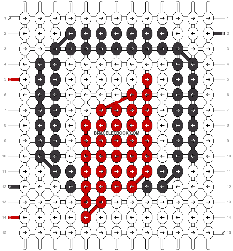 Alpha pattern #21753 pattern