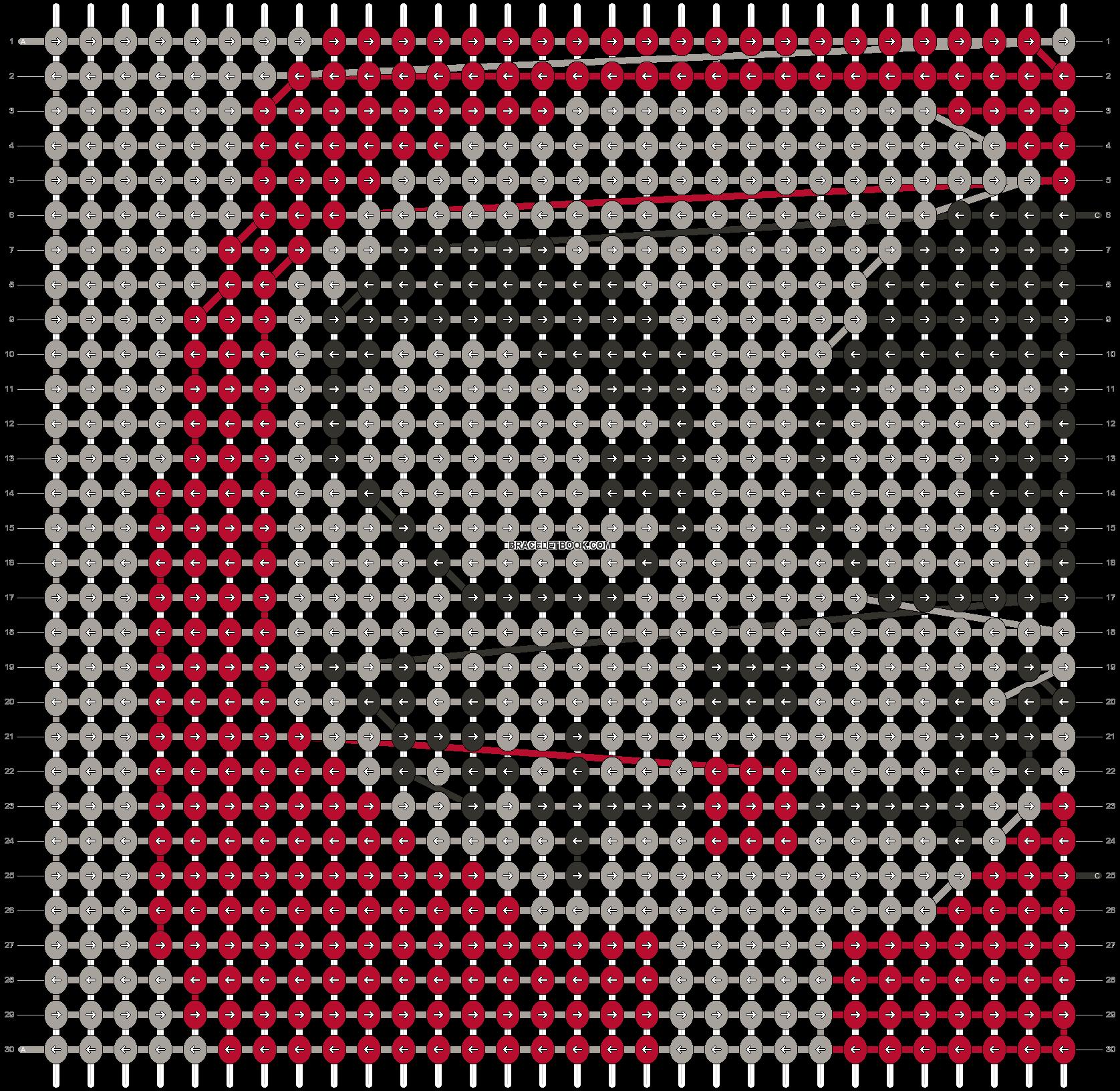 Alpha pattern #21760 pattern