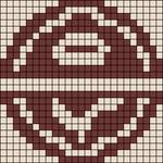 Alpha pattern #21765