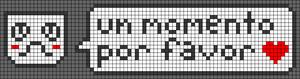 Alpha pattern #21768