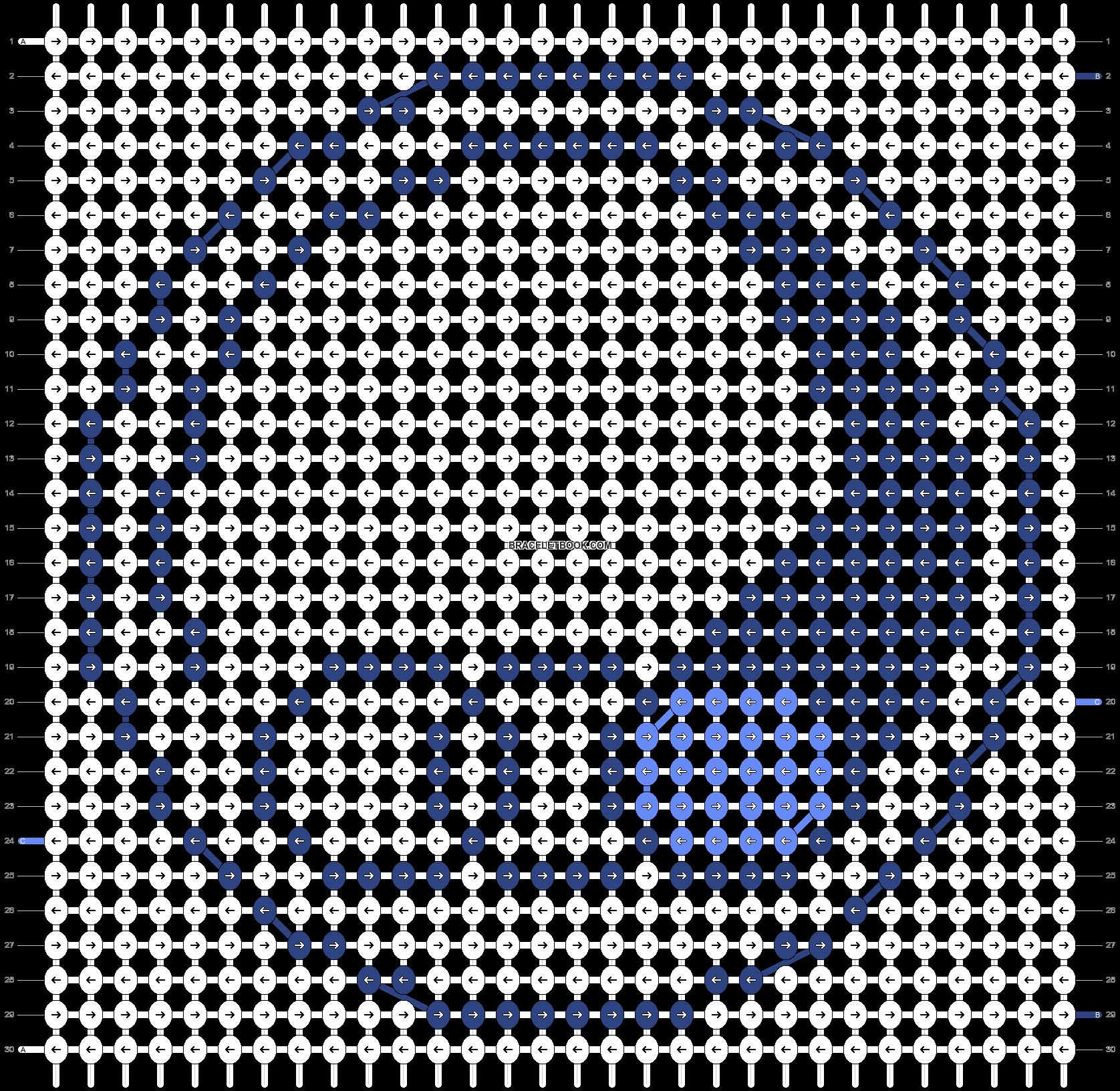 Alpha pattern #21773 pattern