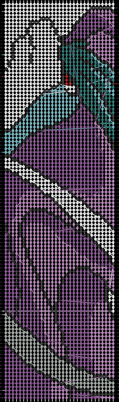 Alpha pattern #21775 pattern
