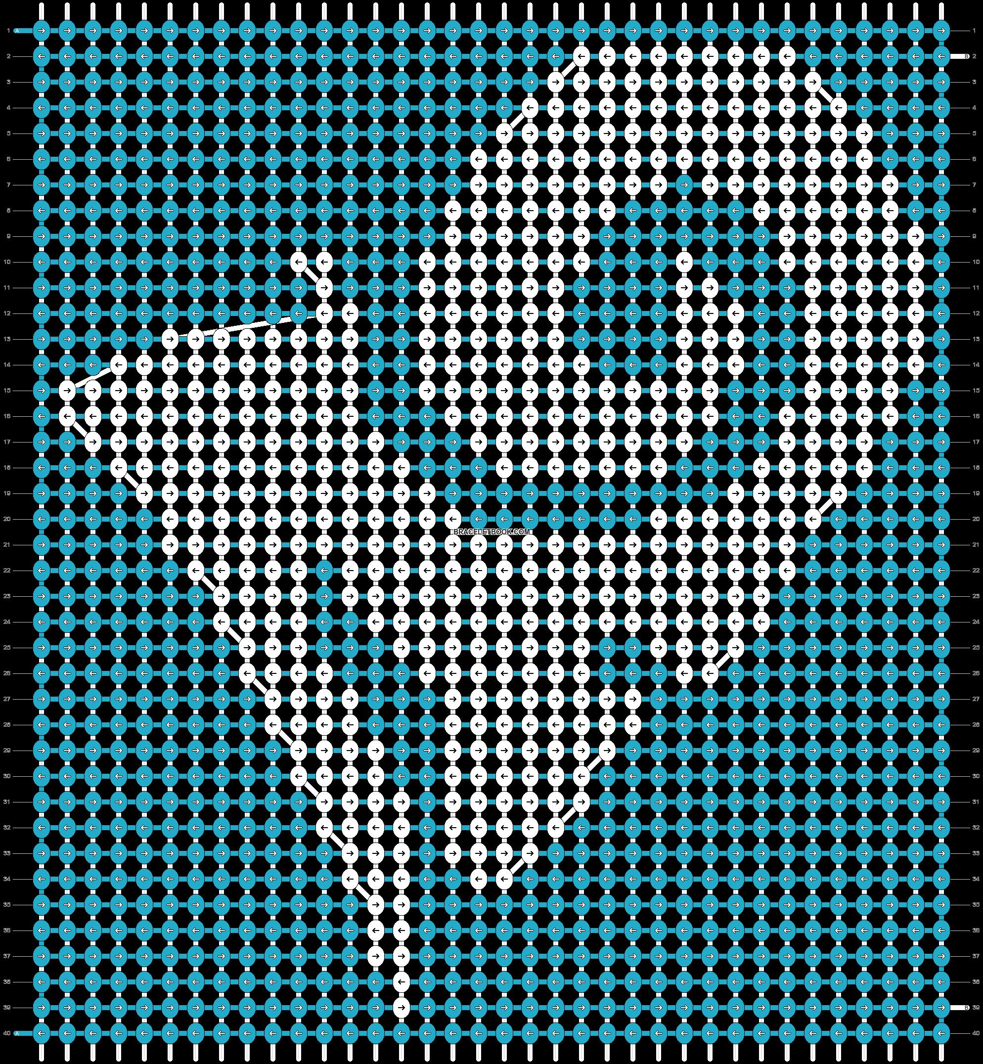 Alpha pattern #21783 pattern