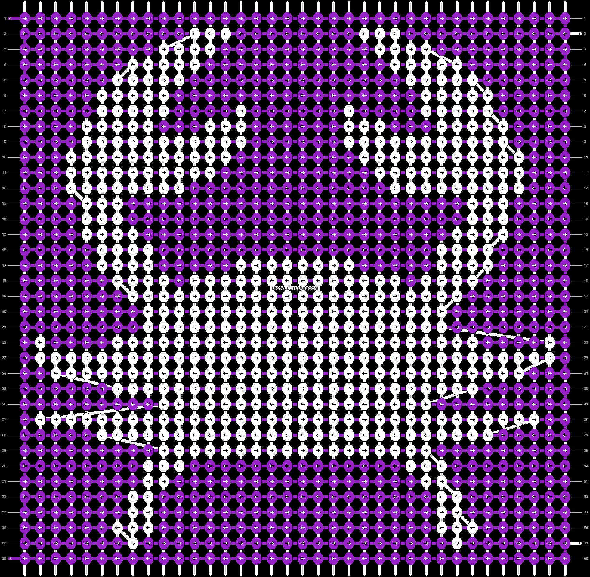 Alpha pattern #21784 pattern