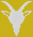 Alpha Friendship Bracelet Pattern #21785