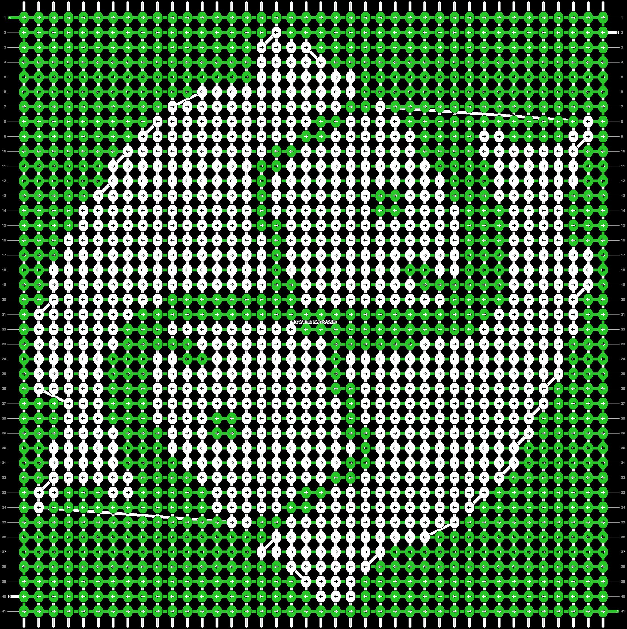 Alpha pattern #21786 pattern