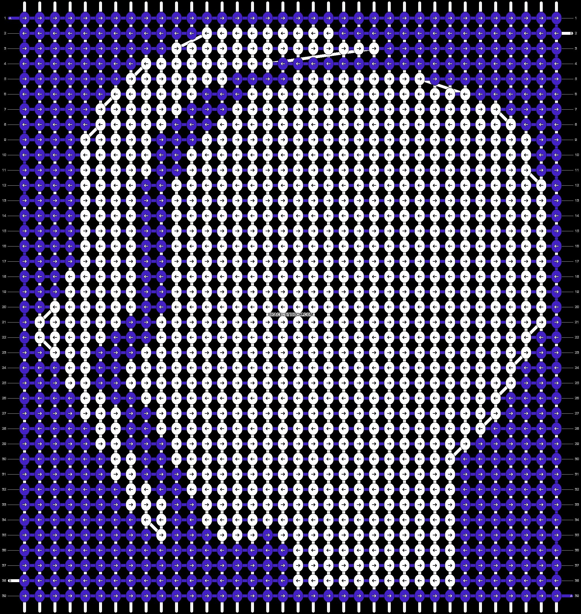 Alpha pattern #21790 pattern