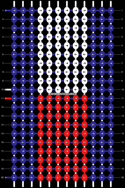 Alpha pattern #21799 pattern