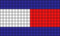 Alpha Friendship Bracelet Pattern #21799