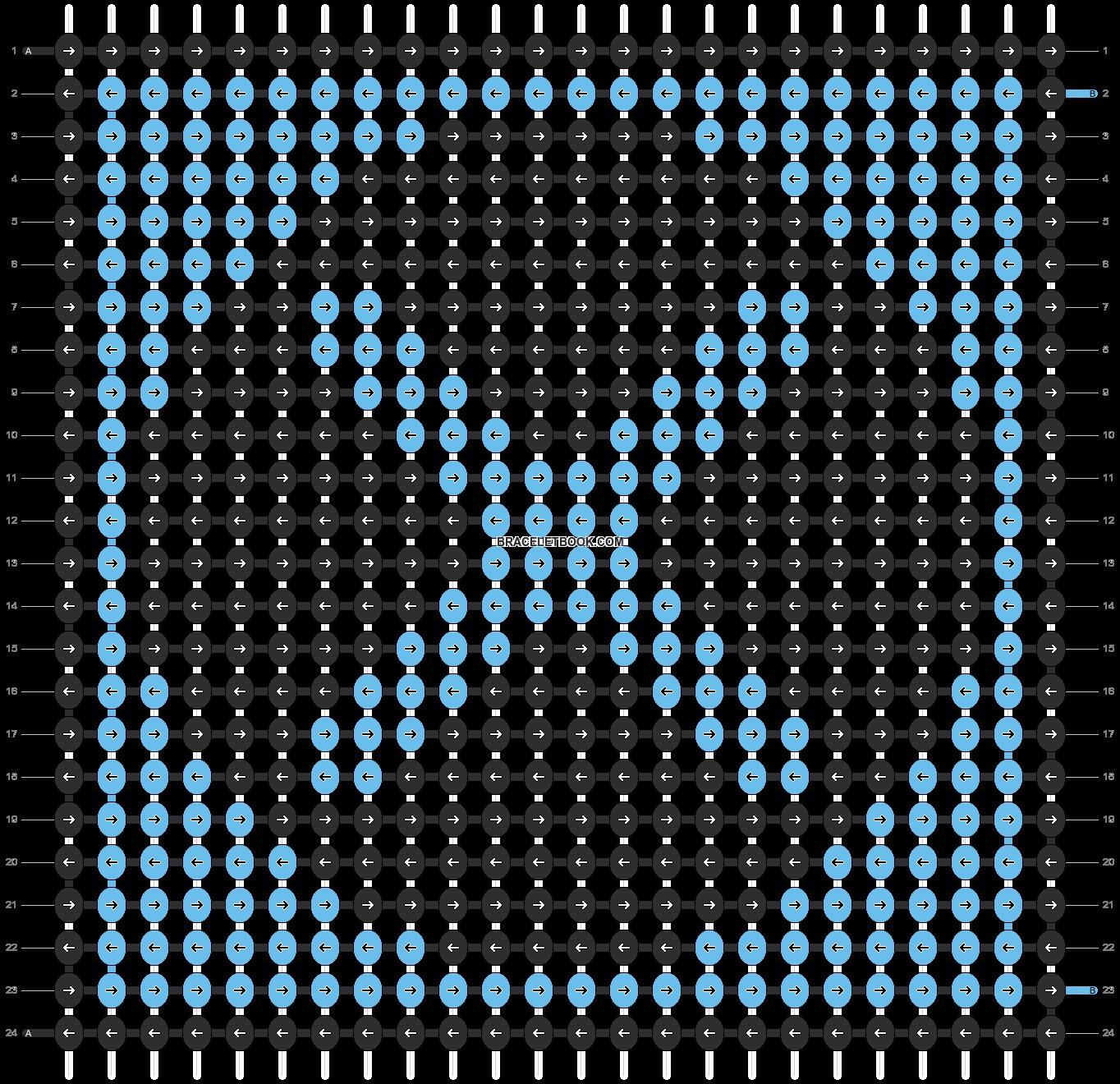 Alpha pattern #21804 pattern