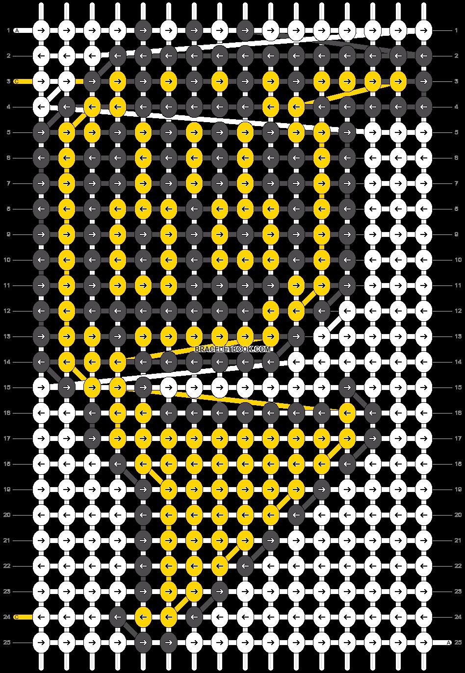 Alpha pattern #21809 pattern