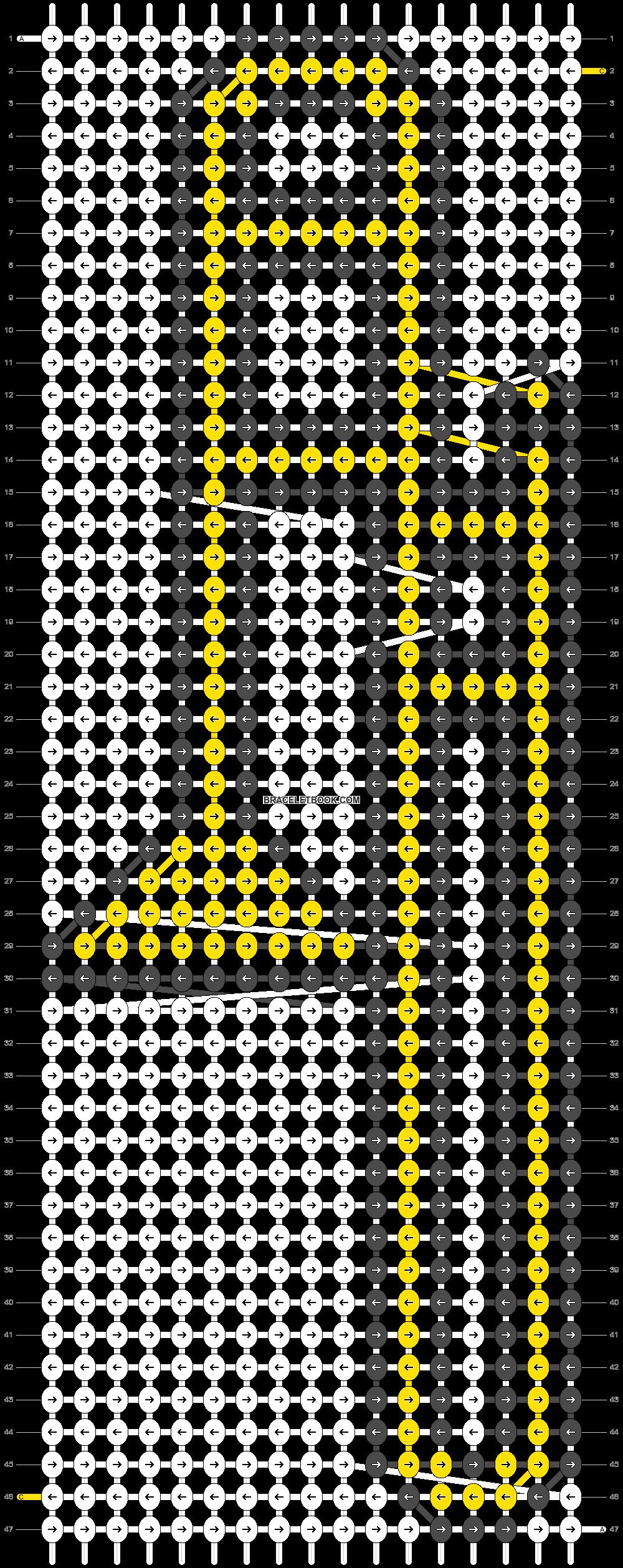 Alpha pattern #21811 pattern