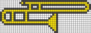 Alpha Friendship Bracelet Pattern #21811