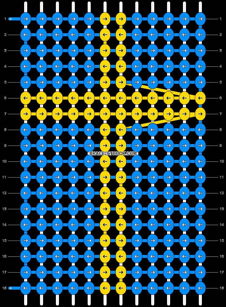Alpha pattern #21820 pattern