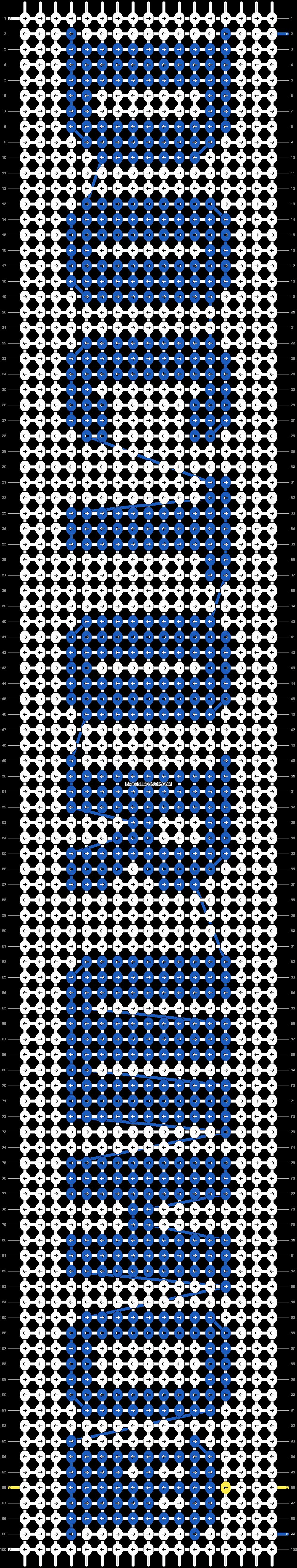 Alpha pattern #21831 pattern