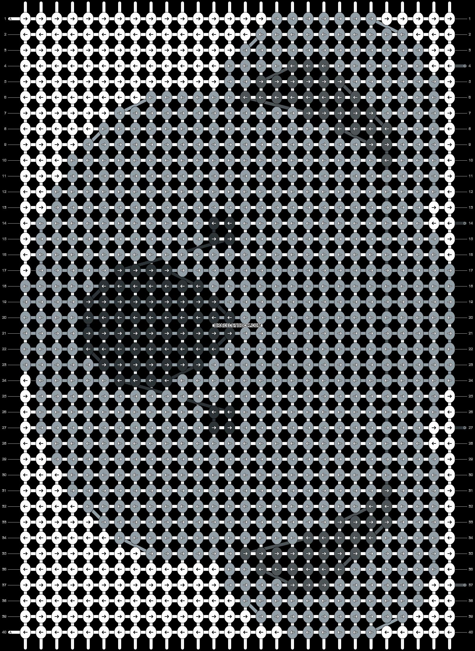 Alpha pattern #21839 pattern