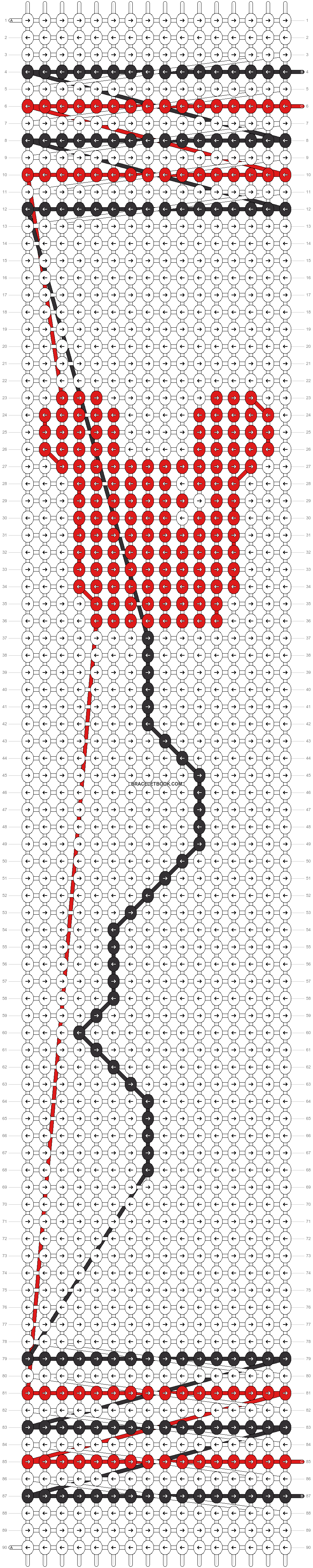 Alpha pattern #21848 pattern