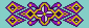 Alpha Friendship Bracelet Pattern #21849