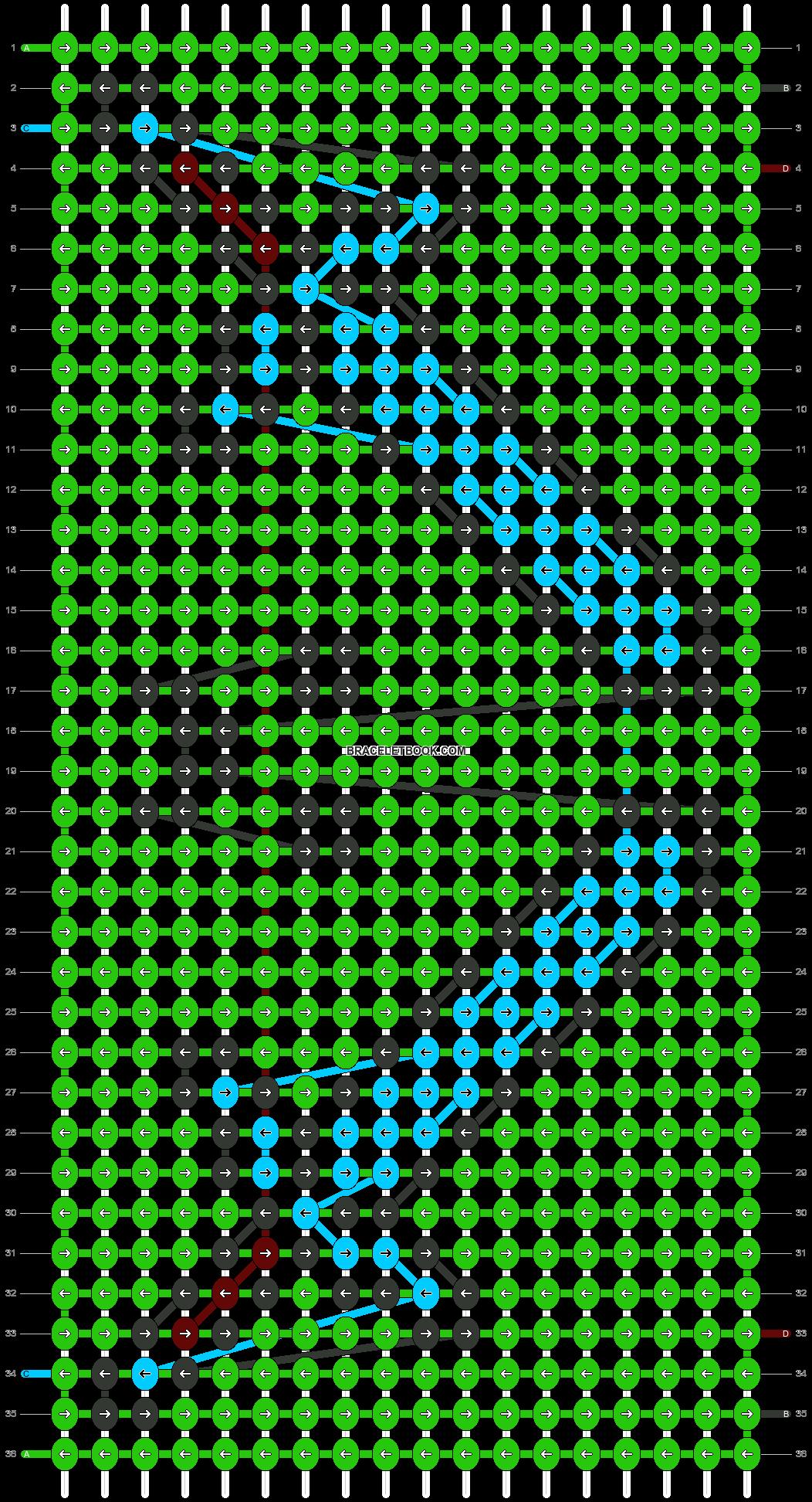Alpha pattern #21852 pattern