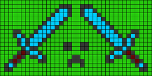 Alpha pattern #21852