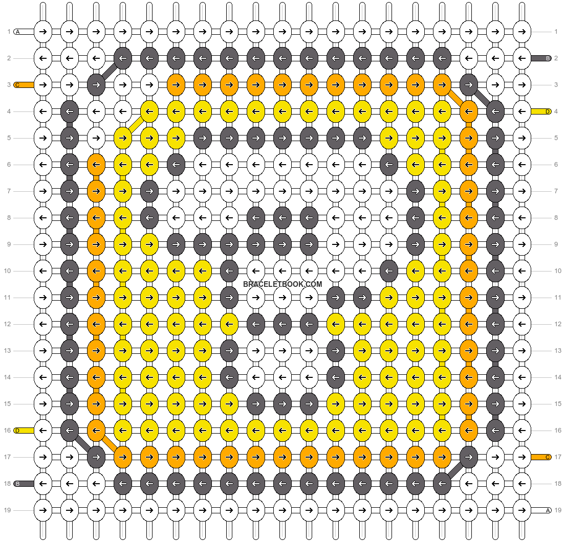 Alpha pattern #21858 pattern