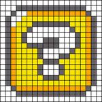 Alpha pattern #21858