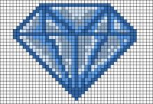 Alpha pattern #21867