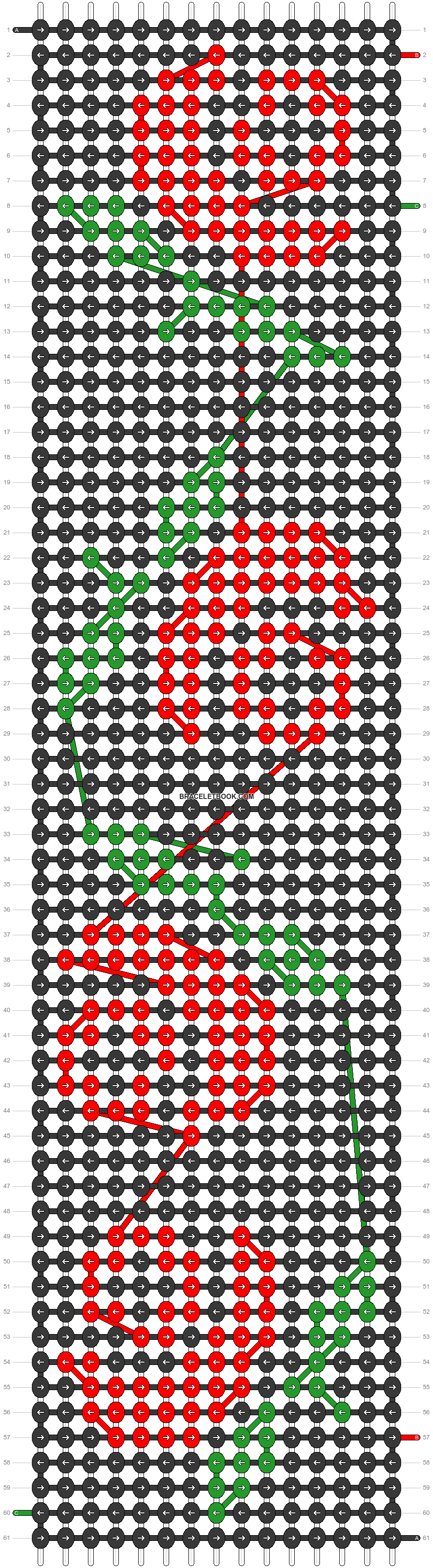 Alpha pattern #21874 pattern