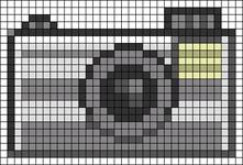 Alpha Friendship Bracelet Pattern #21875