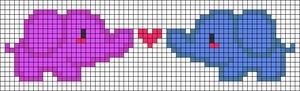 Alpha Friendship Bracelet Pattern #21881