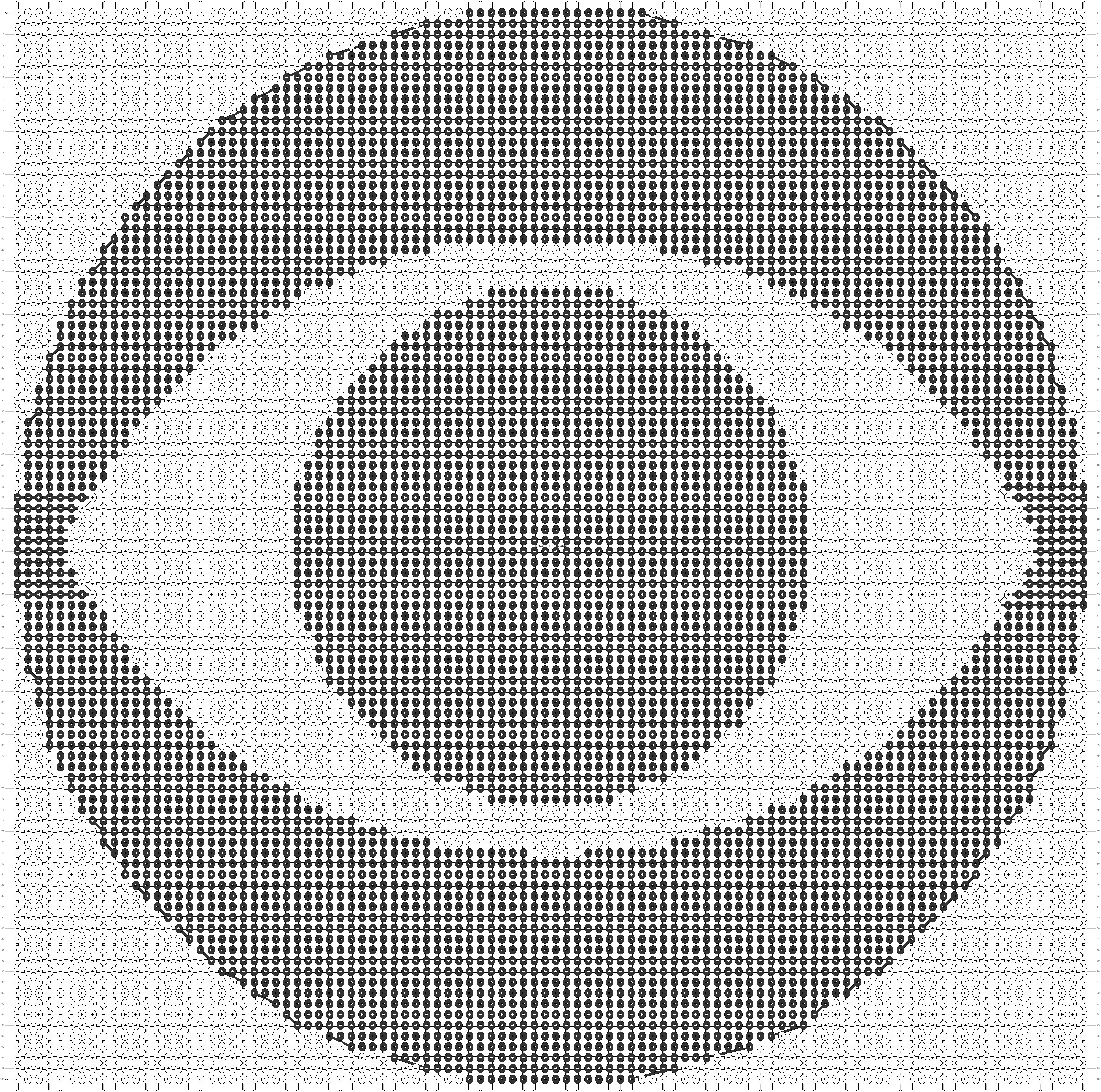 Alpha pattern #21886 pattern