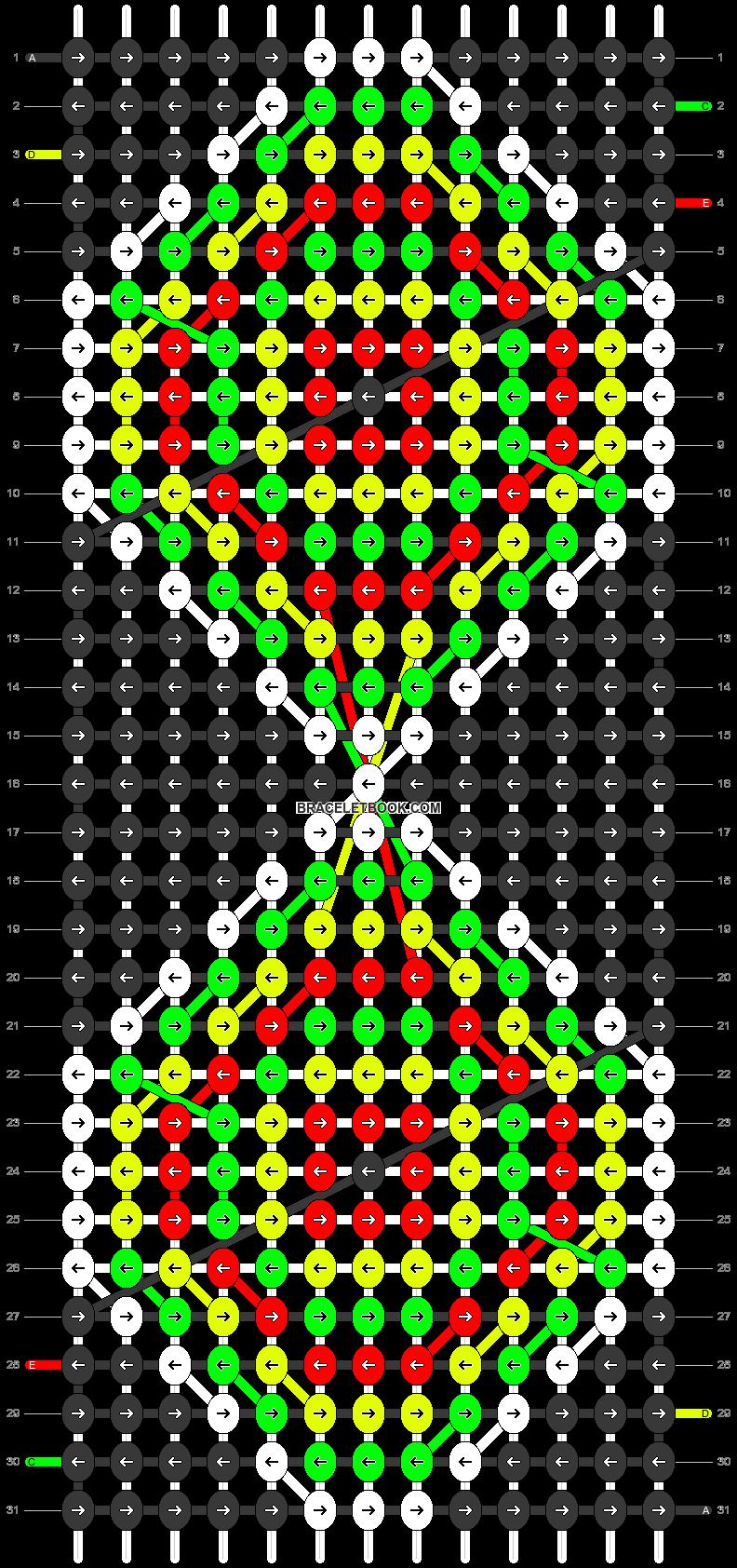 Alpha pattern #21901 pattern