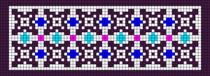 Alpha Friendship Bracelet Pattern #21905