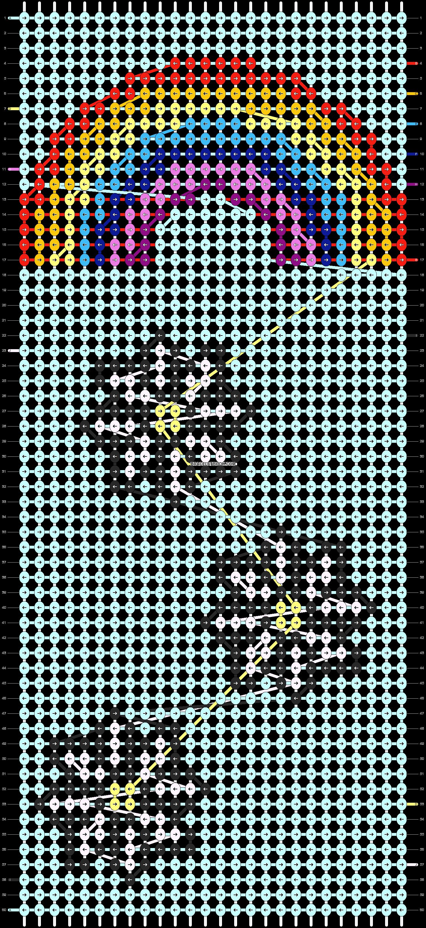 Alpha pattern #21907 pattern