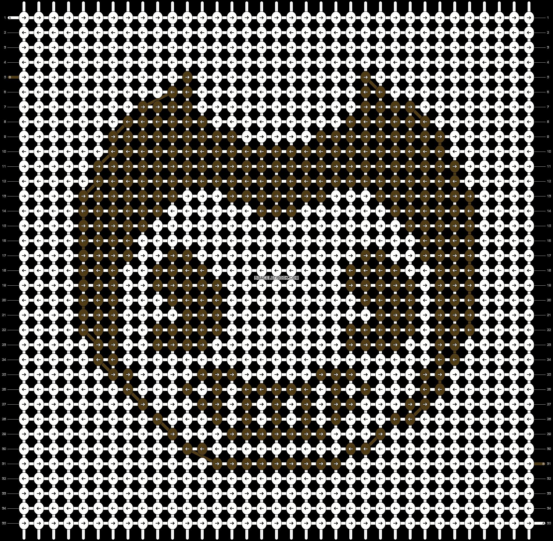 Alpha pattern #21910 pattern