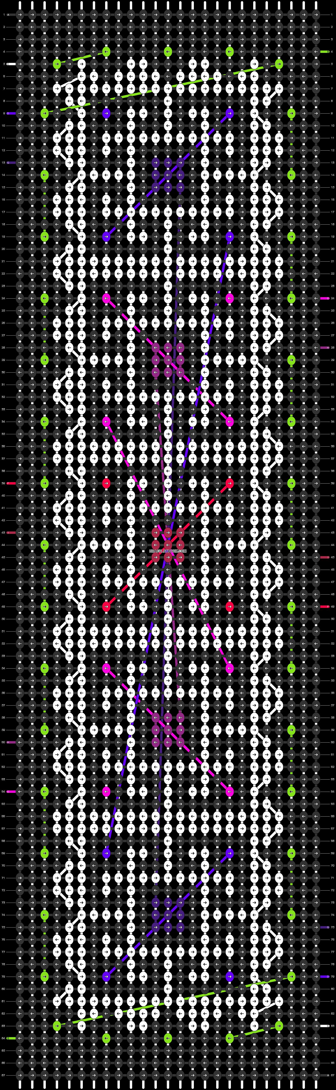 Alpha pattern #21917 pattern