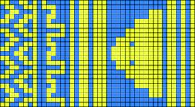 Alpha pattern #21926