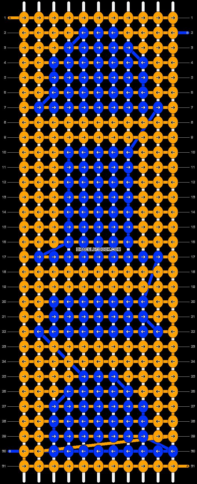 Alpha pattern #21928 pattern