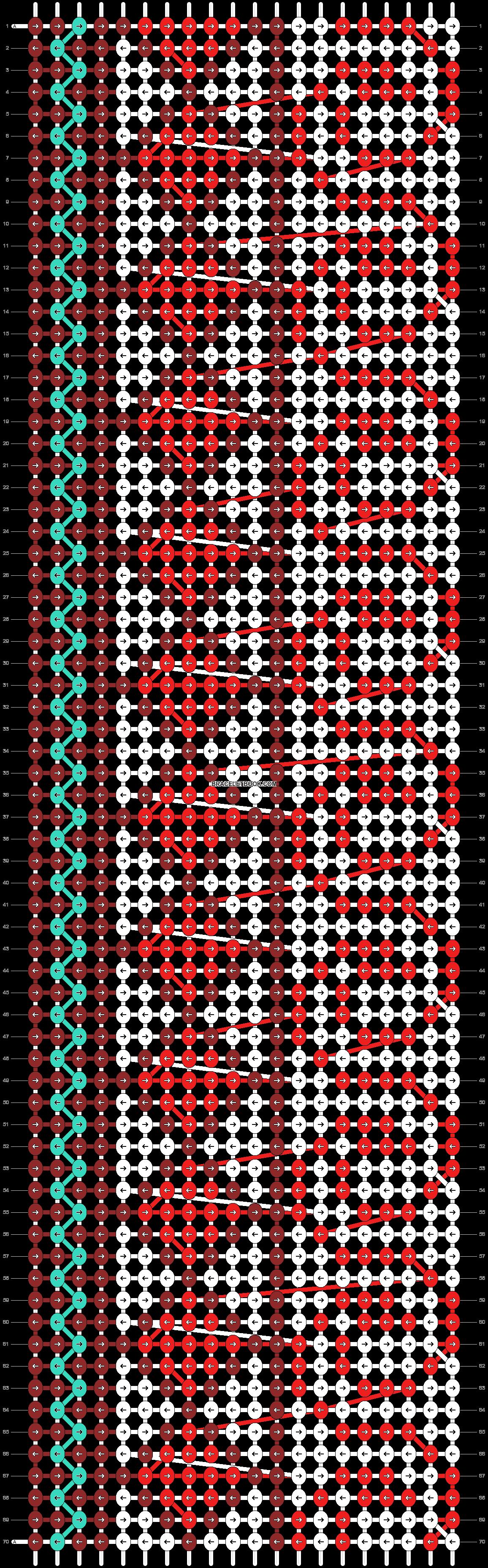 Alpha pattern #21939 pattern