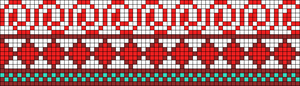 Alpha Friendship Bracelet Pattern #21939