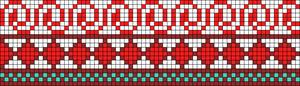 Alpha Friendship Bracelet Pattern #21939