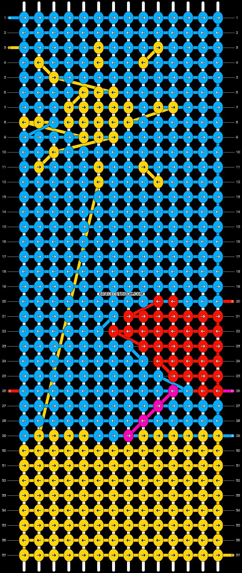 Alpha pattern #21942 pattern