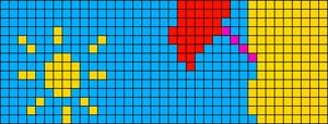 Alpha pattern #21942