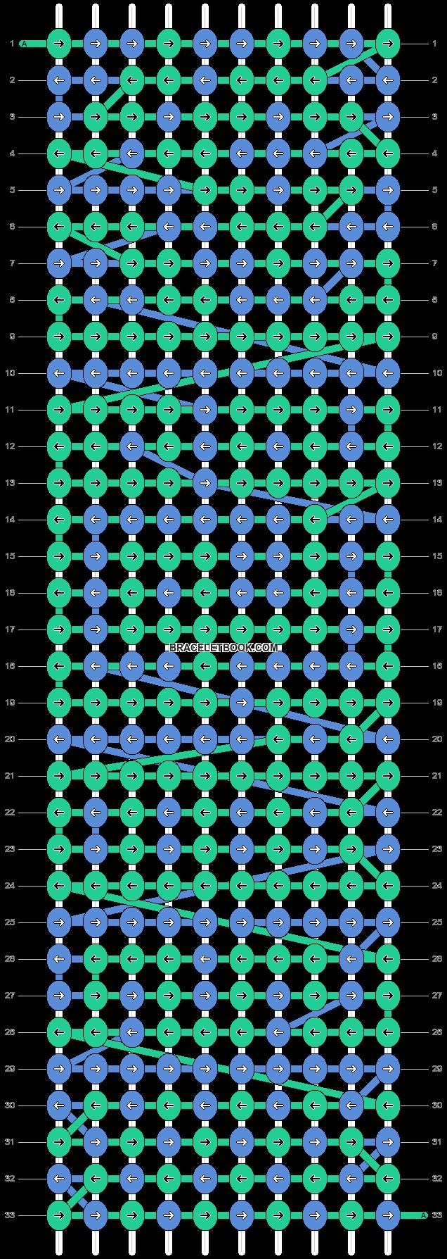 Alpha pattern #21960 pattern