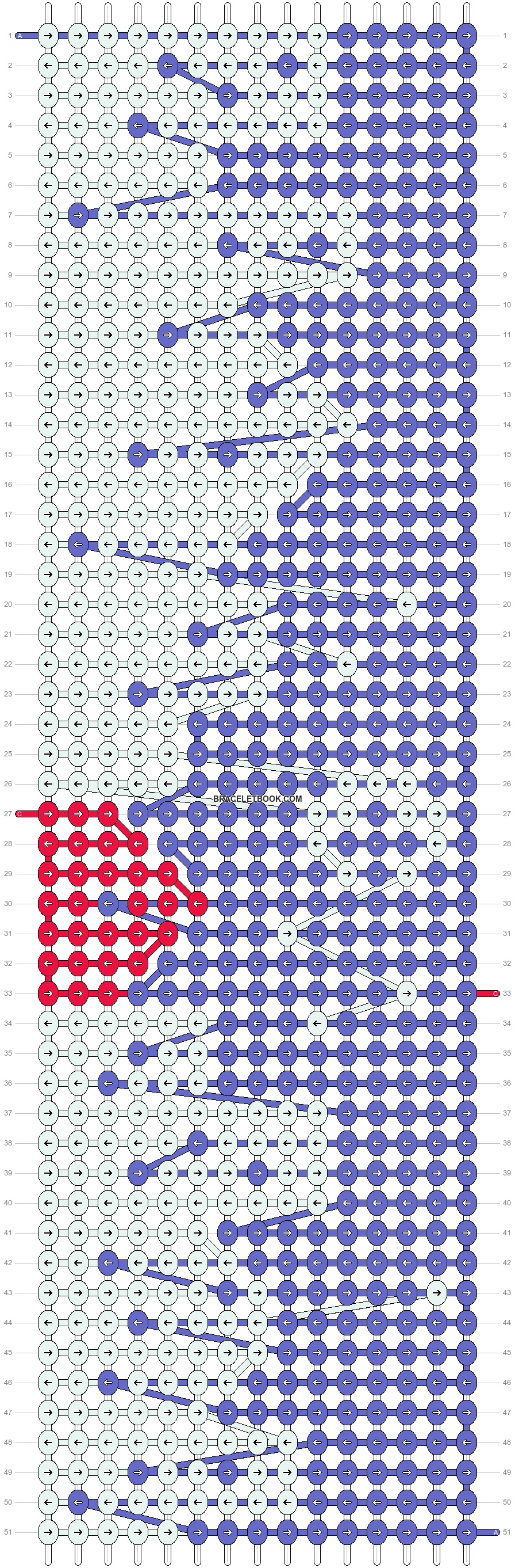 Alpha pattern #21961 pattern